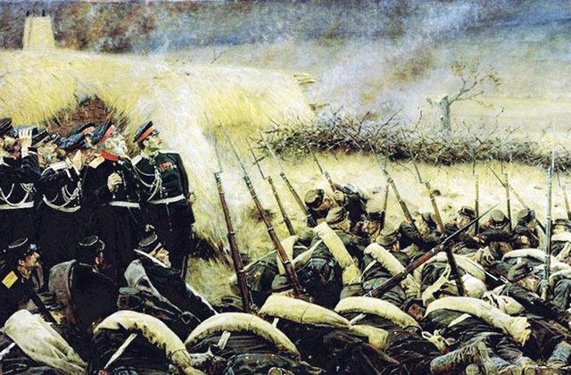 КАРТИНА: Верещагин В.В. Перед атакой. Под Плевной (1881)