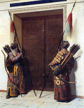 КАРТИНА: Верещагин В.В. Двери Тимура (Тамерлана) (1872)