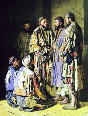 КАРТИНА: Верещагин В.В. Политики в опиумной лавочке (1870)