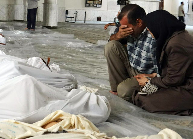 Разведка ФРГ считает, что власти Сирии виновны в химатаке под Дамаском