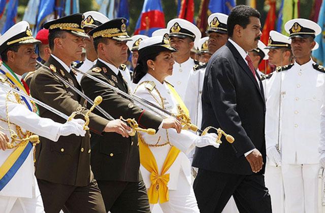"""Левый демарш - Дружественные Венесуэле страны Латинской Америки пригрозили жестко ответить на """"агрессию Вашингтона"""""""