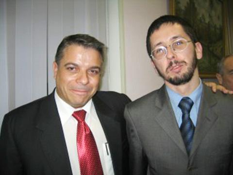ФОТО. Михиал Чернов с министром иностранных дел Кубы Фелипе Пересом Рохе.