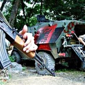 Война в Македонии - славяне против албанцев