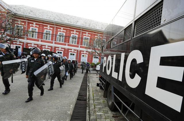 Новости 01.12.2013. Тайская оппозиция блокировала здание МВД в Бангкоке