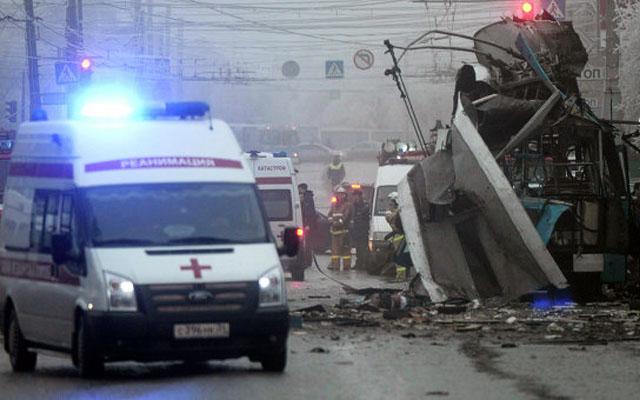 Новости 30.12.2013. Второй за сутки теракт в Волгограде: взрыв в троллейбусе