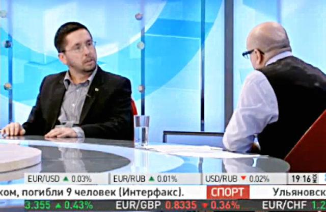 """РБК-ТВ. Программа """"Виттель. Обозреватель"""". 26.12.2013."""