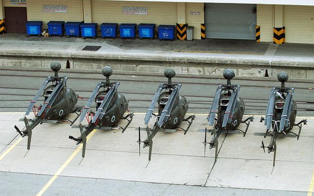 Пентагон намерен избавиться от всех разведывательных вертолетов  Kiowa
