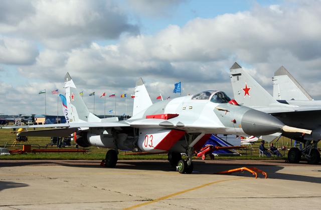 Минобороны РФ закупит крупную партию истребителей МиГ-29СМТ к началу весны