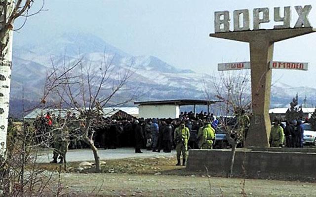 Бишкек и Душанбе не могут устранить все противоречия Версия для печати