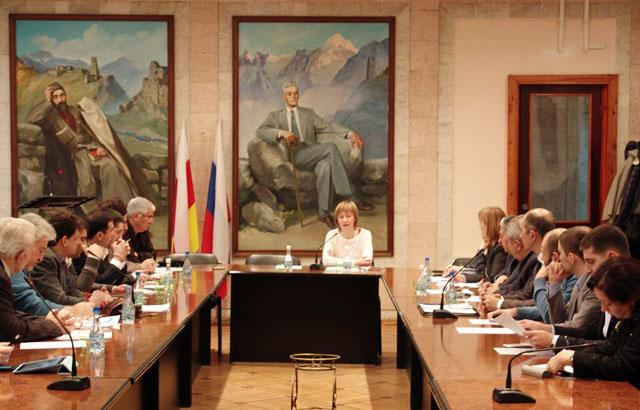 Во Владикавказе прошел Евразийский форум Российского института стратегических исследований