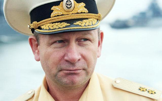 Главнокомандующий ВМФ России адмирал Виктор ЧИРКОВ