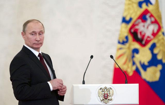 Новости 05.02.2014. Путин стал политиком номер один по итогам всемирного опроса агентств и новостных СМИ