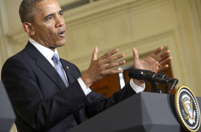 Новости 16.02.2014. Барак Обама подписал законопроект о повышении потолка госдолга США
