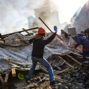 Новости 20.02.2014. Украинские радикалы отказались соблюдать перемирие