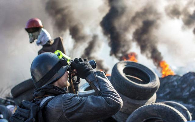 Новости 22.02.2014. Активисты Майдана контролируют правительственный квартал в Киеве
