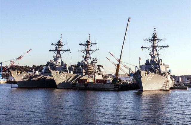 Первый американский эсминец класса Arleigh Burke придет в испанскую Роту на следующей неделе