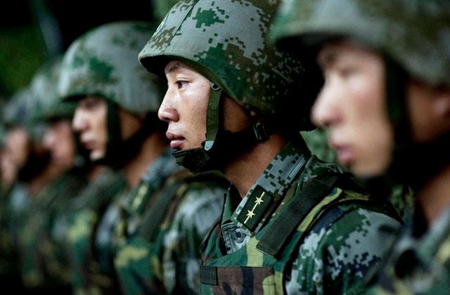 Китайские морпехи готовятся к действиям в северных широтах
