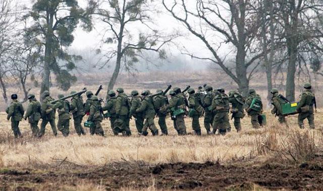 Новости 04.03.2014. Путин приказал участвовавшим в учениях военным вернуться в части