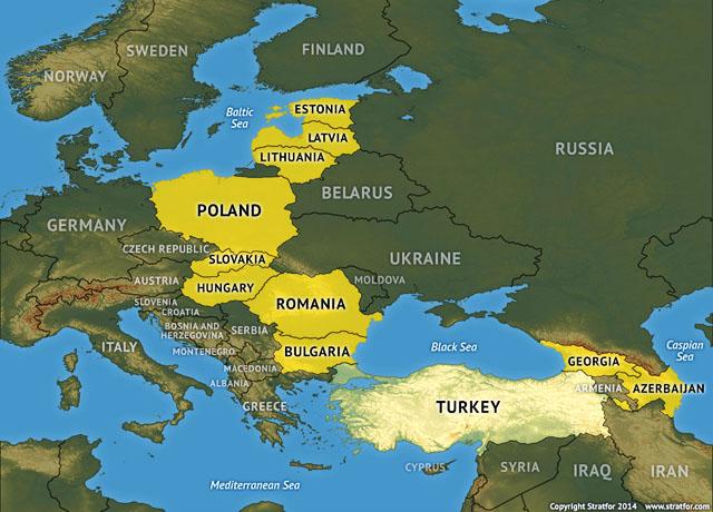 НОВОЕ СДЕРЖИВАНИЕ РОССИИ. Американская стратегия после Украины: от Эстонии до Азербайджана (Stratfor, США)