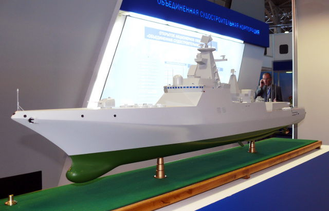 ВМФ России в 2014 году примет в свой состав 40 кораблей