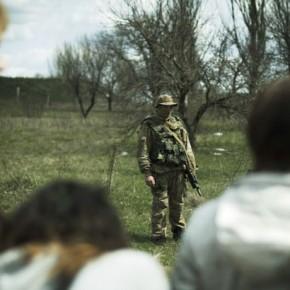 Новости 17.04.2014. Спецподразделение МВД Украины проводит силовую операцию в Мариуполе