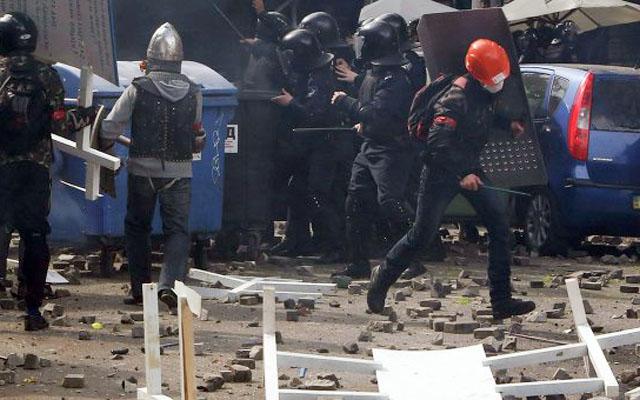 Новости 03.05.2014. Более 200 человек ранены в столкновениях в Одессе, 37 погибли