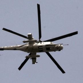 Новости 14.05.2014. ООН проверяет информацию об использовании вертолетов со своей символикой под Краматорском