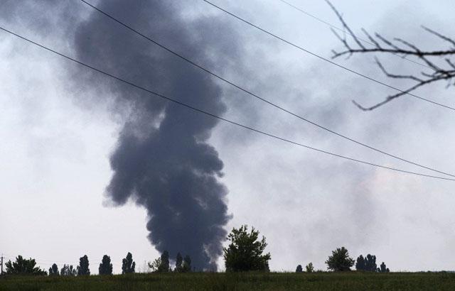 Новости 29.05.2014. Турчинов: на востоке Украины сбит вертолет, 14 военных погибли