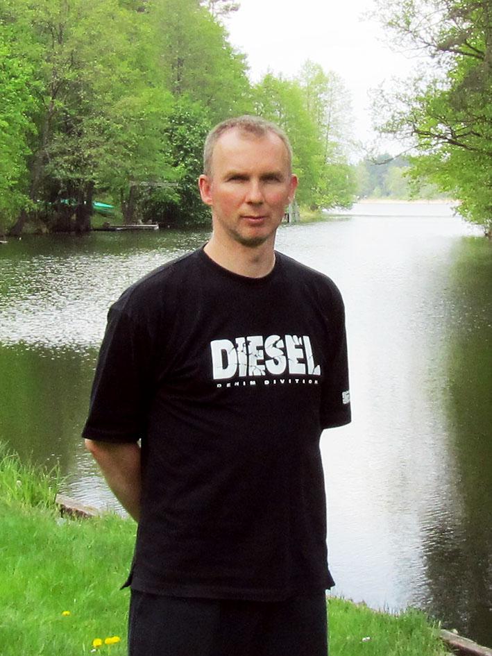 Пономаренко Олег, эксперт Центра СК. На отдыхе