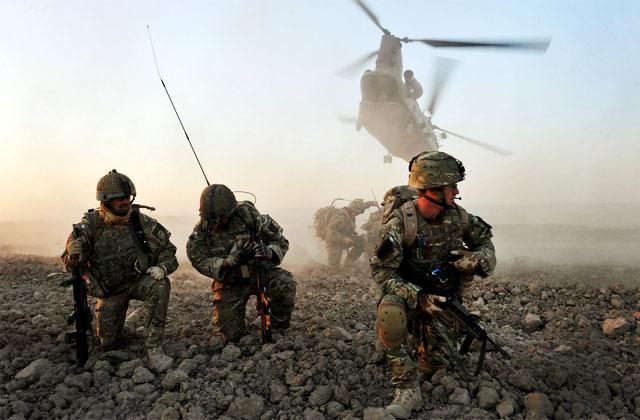 Воздушно-десантные войска Великобритании уполовинят к концу этого года