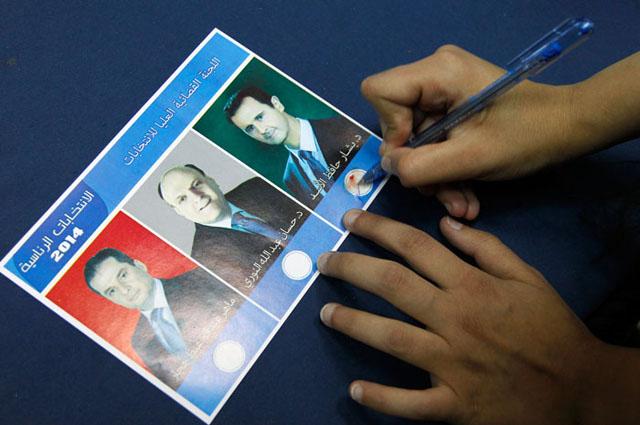Новости 05.06.2014. Асад переизбран президентом Сирии