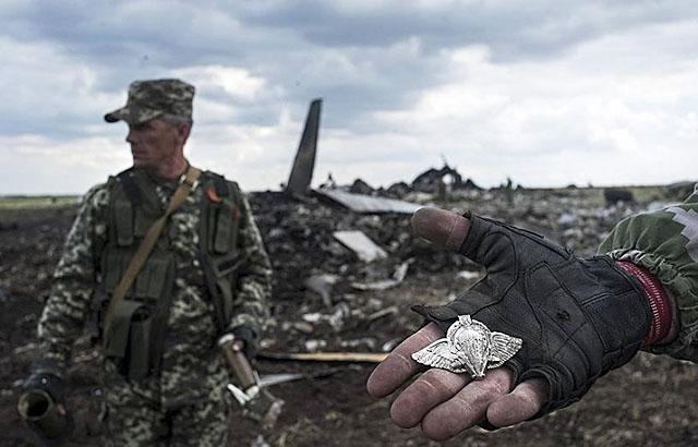 Новости 15.06.2014. ЛНР: транспортный Ил-76 мог быть уничтожен украинскими военными