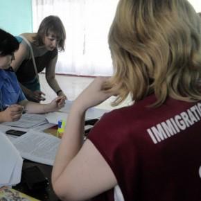 Новости 19.06.2014. МЧС: в России находятся почти 19 тыс. беженцев с Украины