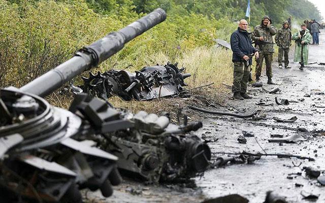 Новости 08.07.2014. Украинский конфликт не поддается дипломатии - Киев продолжает наступление на востоке