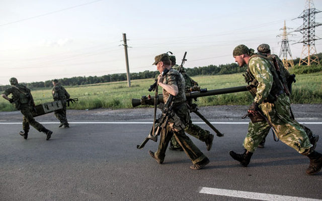 Новости 11.07.2014. Ополченцы сообщили, что аэропорт Донецка обстреливали всю ночь