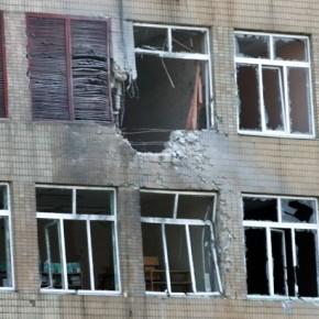 Новости 21.08.2014. Украинские силовики обстреляли Донецк из артиллерийских орудий, повреждены жилые дома
