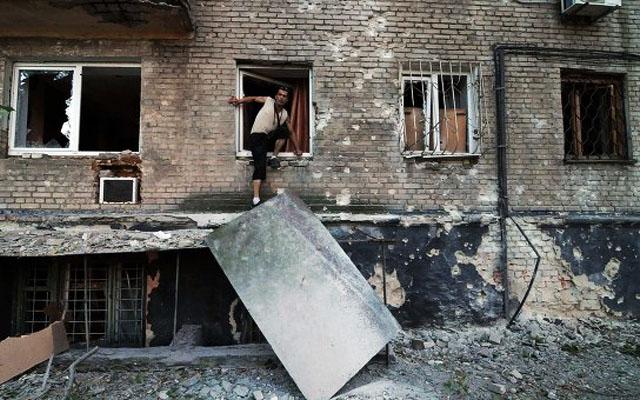 Новости 22.08.2014. Мощные артиллерийские взрывы слышны в центре Донецка