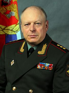 Салюков Олег Леонидович. Главнокомандующий Сухопутными войсками, генерал-полковник.