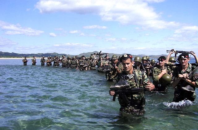 День морской пехоты отмечается в РФ 27 ноября. Сейчас в составе морской пехоты России насчитывается около пяти бригад