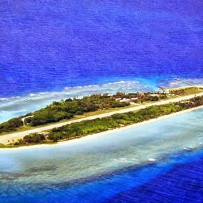 Китай переделывает риф архипелага Спратли в остров-аваносец