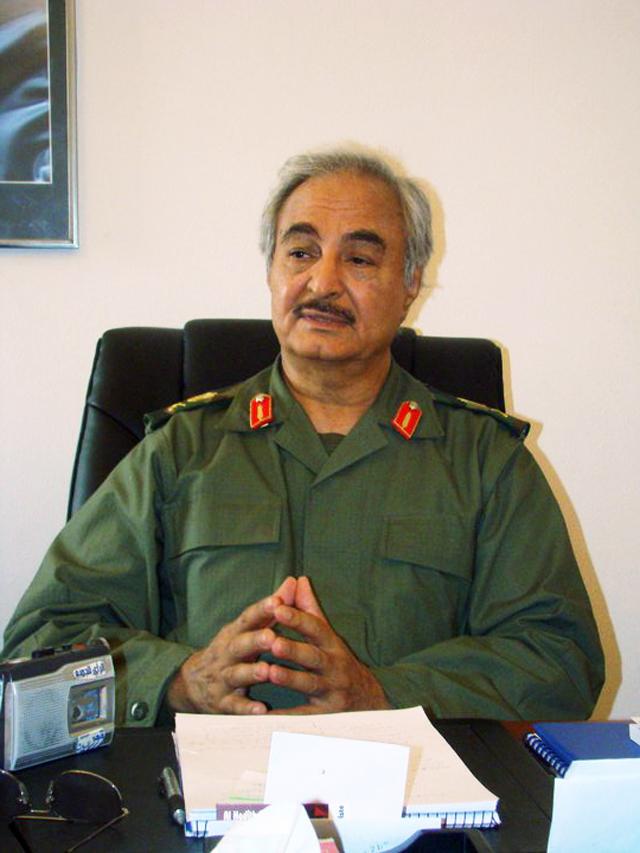 General Halif Belkasim Haftar