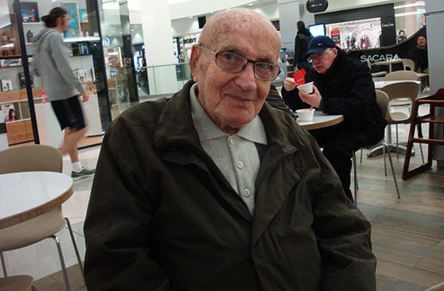 Ветеран югославского партизанского движения Арье Ливне 1921 года рождения / Михаил Чернов.