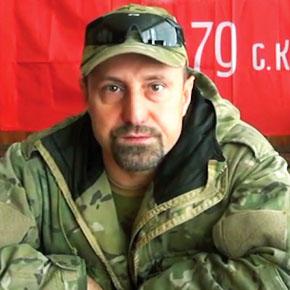 "Александр Ходаковский, командир батальона ""Восток"""