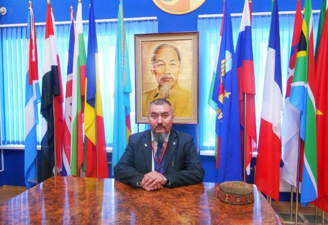 СОБЯНИН Александр Дмитриевич, 27 апреля 2014 года, в Музее космонавтики на космодроме Байконур