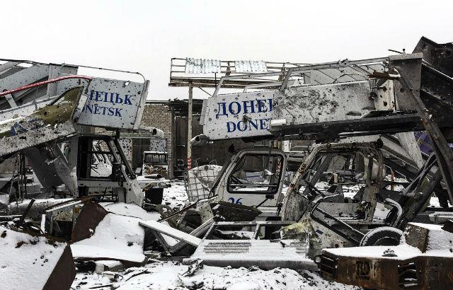 Новости 06.03.2015. ДНР: обстрел миссии ОБСЕ в аэропорту Донецка вызывает сомнения в отводе украинской техники