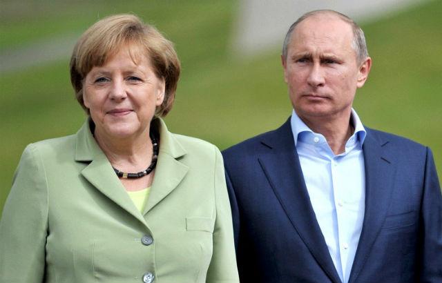 Новости 10.05.2015. Путин: необходимо как можно скорее решить существующие проблемы между Россией и Германией