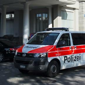 Новости 27.05.2015. Полиция Швейцарии провела обыск и изъяла документы в штаб-квартире ФИФА