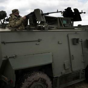 Новости 21.06.2015. Украинская армия получила партию из 55 британских бронемашин Saxon