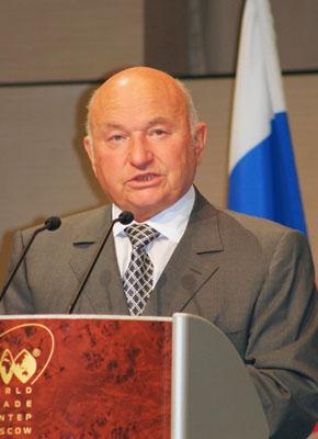Ю.М. Лужков в 2010 году