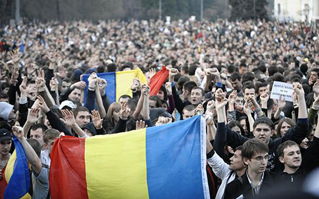 Новости 06.09.2015. Митинг протеста в Кишиневе стал крупнейшим за последние 20 лет